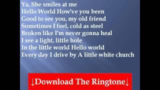 Lady Antebellum - Hello World Lyrics