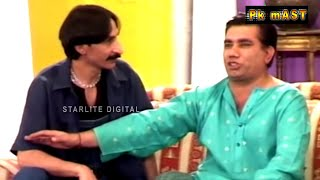 Best Of Iftikhar Thakur, Nasir Chinyoti and Tariq Teddy New Stage Drama Full Comedy Clip