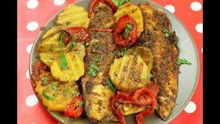 طريقة عمل صينية سمك فيليه بالفرن، جربيها واستمتعي بطعمها مع رباح محمد ( الحلقة 555 )