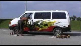 C3P peinture sur camion Darkelixir