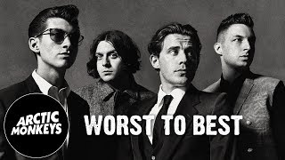 Arctic Monkeys - Worst to Best Albums | GizmoCh