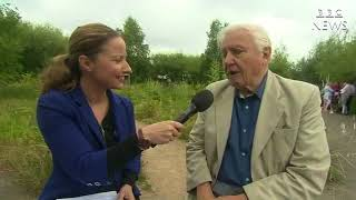 BBC News Facebook Live - Sir David Attenborough on Butterfly Numbers