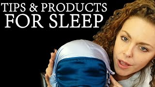 ASMR Sleep ♥ How I Fall Asleep: Tips & Products to Help You Sleep! – ASMR Whisper Ear to Ear
