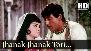 Jhanak Jhanak - Raj Kumar - Mere Huzoor - Shankar Jaikishan - Hindi Song