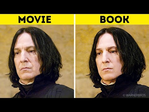 Harry Potter Characters In the Books Vs. In the Movies