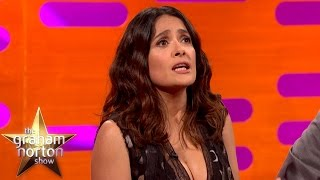 Salma Hayek's Failed Adultery Prank - The Graham Norton Show
