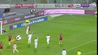 الحكم يلغي هدف عالمي لمحمد صلاح بعد احتسابه في مباراة روما وبيسكار اليوم