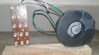 Free Energy Generator by Using Magnets