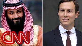 Report: Saudi prince said Kushner is