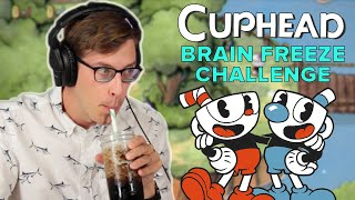 We Try To Beat Cuphead With A Brain Freeze