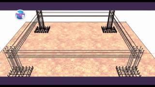 Reinforced Concrete Building Design 3d animation । Details of construction in bangla । Engineers Bd.