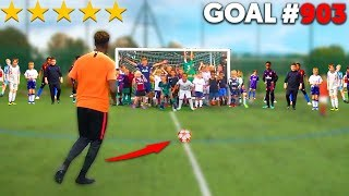 Last KID Footballer To SCORE Wins $1000 - Football Competition