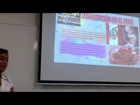 EXPOSICIÓN EL ABORTO D304 USIL 2015