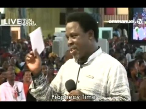 SCOAN 06/11/16: TB Joshua Prophecy On The US Election 2016