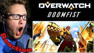 Doomfist Origin Story OVERWATCH REACTION! | HULK-SMASHING EVERYTHING! |