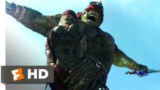Teenage Mutant Ninja Turtles (2014) - Turtles Against Shredder Scene (9/10) | Movieclips
