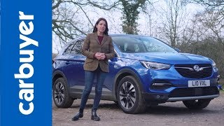 Vauxhall (Opel) Grandland X SUV 2018 review - Carbuyer