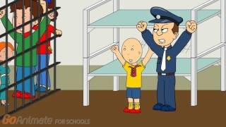 Rosie gets Caillou Arrested