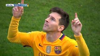 Lionel Messi vs Malaga (Away) 15-16 HD 1080i (23/01/2016) - English Commentary