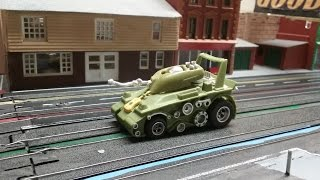 This Weeks Biweekly Featured Car AFX Peace Tank