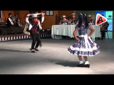 Campeones Nacionales de Cueca Mini Infantil Tomé 2012