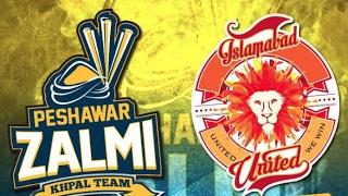 Islamabad United vs Peshawar Zalmi 1st Match Pakistan Super League Live Cricket Score