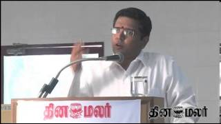 Saravana Prasath Speech at Kovai Dinamalar Vazhikatti on Chances in Studying C.A.