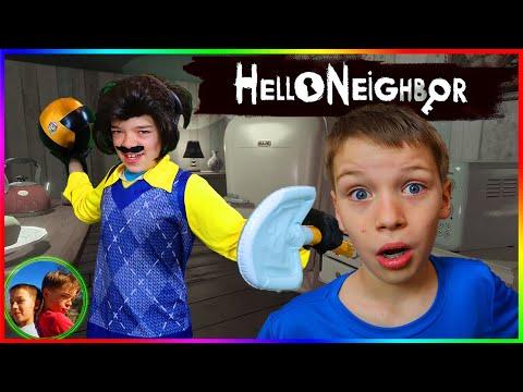 Hello Neighbor In Real Life DODGE BALL Steel Kids