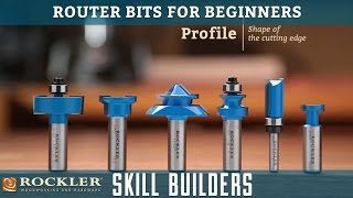 Router Bits for Beginners | Rockler Skill Builders