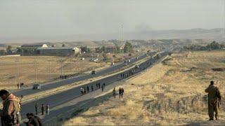 حصري - الأكراد يقاومون مع وصول القوات العراقية حدود محافظة اربيل