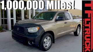 Meet the One Million Mile Toyota Tundra Still with Its Original V8!
