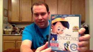 Blu-Ray Unboxing: Pinocchio Walt Disney Signature Collection