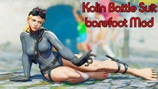Kolin battle suit barefoot Mod Fights!   Kolin Street Fighter IV Mod   Street Fighter V Mod