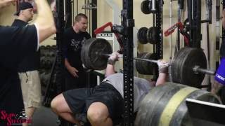 Worlds Strongest Man Brian Shaw | Training Highlights | Bench Press