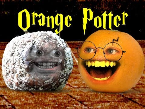 Annoying Orange Orange Potter and the Deathly Apple