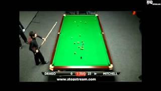 Tony Drago Vs Dylan Mitchell -  2013 Shanghai Masters Qualifying -  Frame 2