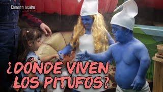 Cámara oculta de niños en El Hormiguero - ¿Quién vive en la seta gigante?