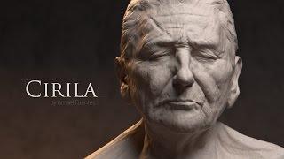 Cirila: Blender Sculpting Timelapse. Dyntopo