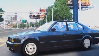 BMW 535i E34 ShadowLine - GTA IV ENB - 2.7K / 1440p !