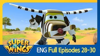 [Super Wings] Full Episodes 28~30(ENG)