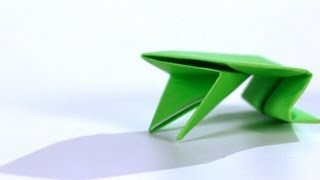 How to Make a Frog | Origami