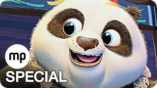 KUNG FU PANDA 3 Film Clips & Trailer German Deutsch (2016)