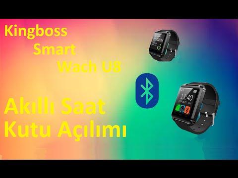 35 TL Fiyatlı Kingboss Smart Wach U8 Akıllı Saat - KUTU AÇILIMI
