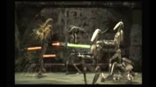 Star Wars Jedi Starfighter Cutscene-Jedi Valor