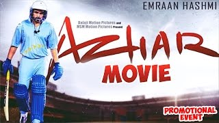 Azhar Movie (2016) Promotional Events | Emraan Hashmi, Prachi Desai, Nargis Fakhri