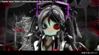 【初音ミク_Hatsune Miku 】- 細菌汚染 Bacterial Contamination [English Sub + MP3 Link]