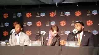 TigerNet.com - Clemson arrival press conference