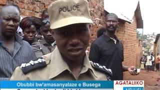 Obubbi bw'amasanyalaze e Busega