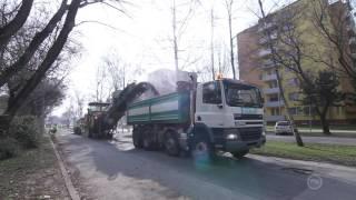 Frézovanie Ulice Andreja Hlinku