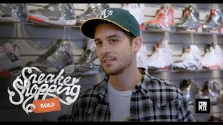 G-Eazy Goes Sneaker Shopping with Complex